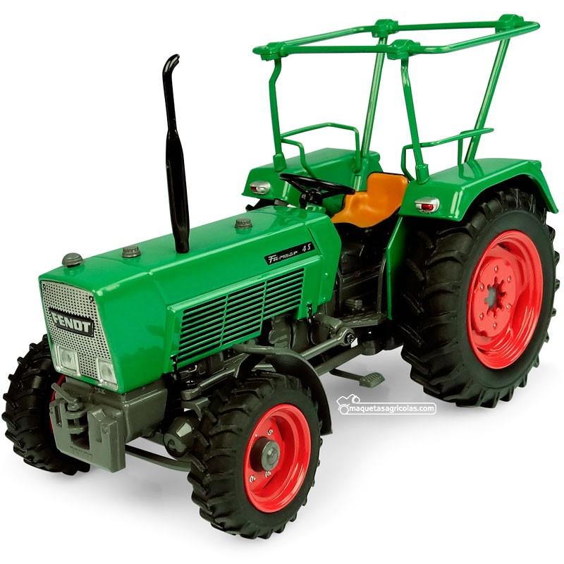 Tractor Fendt Farmer 4S - 4WD con barras en el techo - Réplica 1:32 - UH5309