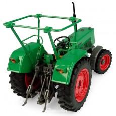 Tractor Fendt Farmer 4S - 4WD con barras en el techo - Réplica 1:32 - UH5309 vista posterior