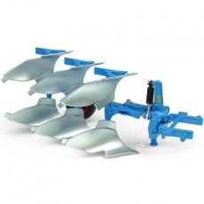 Arado Lemken Opal 090 3 cuerpos reversible - Miniatura 1:32 - UH5279