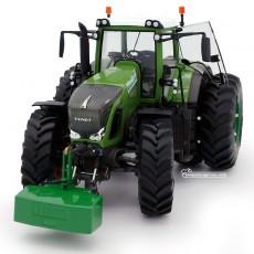 Tractor Fendt 936 Vario AdBlue Silage con doble rueda - Miniatura Edición Limitada 1:32 - Wiking 077422 frontal
