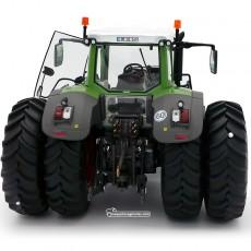 Tractor Fendt 936 Vario AdBlue Silage con doble rueda - Miniatura Edición Limitada 1:32 - Wiking 077422 vista posterior