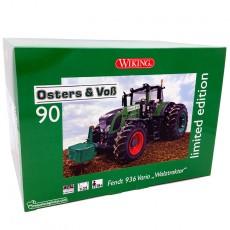 Tractor Fendt 936 Vario AdBlue Silage con doble rueda - Miniatura Edición Limitada 1:32 - Wiking 077422 embalaje