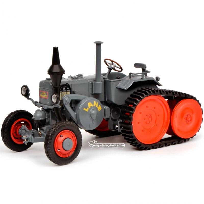 Tractor Lanz Ackerluft con oruga - Miniatura 1:32 - Schuco 450769300
