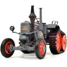 Tractor Lanz Ackerluft con oruga - Miniatura 1:32 - Schuco 450769300 frontal izquierdo