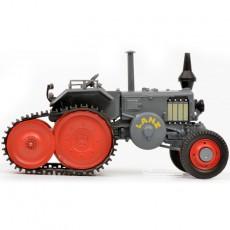 Tractor Lanz Ackerluft con oruga - Miniatura 1:32 - Schuco 450769300 lateral derecho