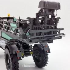 Carro pulverizador Berthoud New Raptor - Miniatura 1:32 - Replicagri REP164 detalle posterior