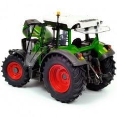 Tractor Fendt 211 Vario, verde - Miniatura 1:32 - Schuco 450781500 vista posterior