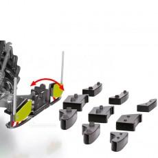 Peso delantero Agribumper para Claas - Miniatura 1:32 - Wiking 077841 despiece contrapesos