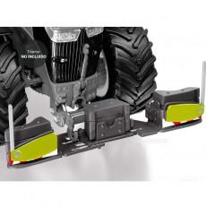 Peso delantero Agribumper para Claas - Miniatura 1:32 - Wiking 077841 ejemplo de montaje