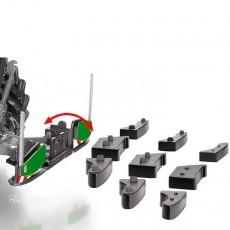Peso delantero Agribumper para Fendt - Miniatura 1:32 - Wiking 077842 despiece de las pesas