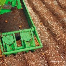 Campo de patatas para cosecha (16 surcos) - Miniatura 1:32 - Juweela 23385 ejemplo de diorama