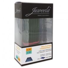 Chapas onduladas verdes 15 piezas - miniatura 1:32/1:35 - Juweela 23256 envase