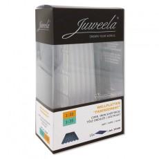 Chapas onduladas translucidas 15 piezas - miniatura 1:32/1:35 - Juweela 23248 envase