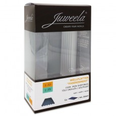 Chapas onduladas translucidas 6 piezas - miniatura 1:32/1:35 - Juweela 23247 envase