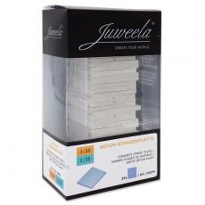 Placas grises de carretera 25 piezas - miniatura 1:32 - Juweela 23375 envase