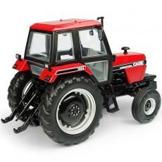 Tractor Case International 1494 – 2WD – Versión rojo/negro - Miniatura 1:32 - UH6209 perfil posterior derecho