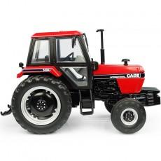 Tractor Case International 1494 – 2WD – Versión rojo/negro - Miniatura 1:32 - UH6209 vista lateral