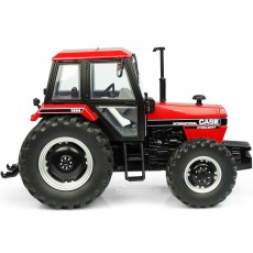 Tractor Case International 1494 – 4WD – Versión rojo/negro - Miniatura 1:32 - UH6210 vista lateral