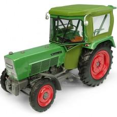 Tractor Fendt Farmer 5S 2WD met PEKO Cabina - Miniatura 1:32 - UH5291 perfil frontal