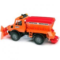 Camión Unimog con quitanieves - Miniatura 1:16 - Bruder 02572
