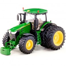 Tractor John Deere 7310R doble rueda - Miniatura 1:32 - Wiking 077846