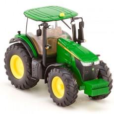 Tractor John Deere 7260R - Miniatura 1:87 - Wiking 035801
