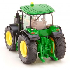 Tractor John Deere 7260R - Miniatura 1:87 - Wiking 035801 vista posterior