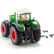 Tractor Fendt 1050 Vario - Miniatura 1:87 - Wiking 036160 vista posterior