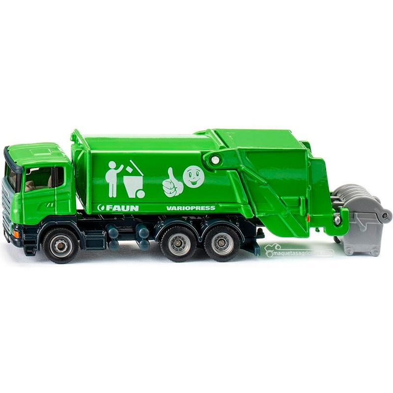 Camión de la basura - Miniatura 1:87 - Siku 1890