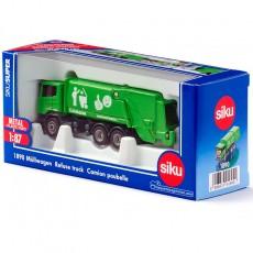 Camión de la basura - Miniatura 1:87 - Siku 1890 caja