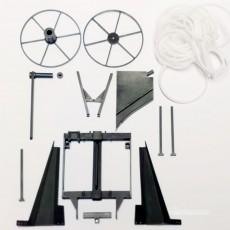 Kit máquina para enterrar tubería - Miniaturas 1:32 para montar- Artisan 03115 despiece