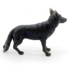 Perro pastor alemán 30 mm x 23 mm - para pintar - Miniatura 1:32 - Artisan 04875