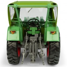 Tractor Fendt Farmer 5S con cabina Peko y cargador frontal BAAS - 4WD - Miniatura 1:32 - UH5310 vista posterior