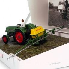 Pulverizador Amazone 300S con Fendt Farmer 2 - Ed. limitada 1000 piezas - Miniatura 1:32 - UH 6201 posterior