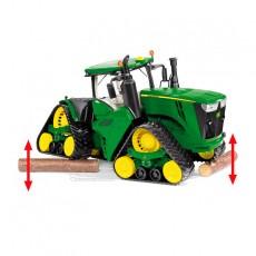 Tractor John Deere 9620RX - Miniatura 1:32 - Wiking 077849 vista lateral