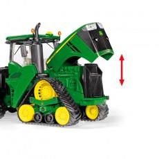 Tractor John Deere 9620RX - Miniatura 1:32 - Wiking 077849 detalle motor