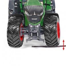 Tractor Fendt 942 Vario - Miniatura 1:32 - Wiking 077839 detalle ruedas