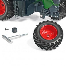 Tractor Fendt 942 Vario - Miniatura 1:32 - Wiking 077839 ruedas desmontables