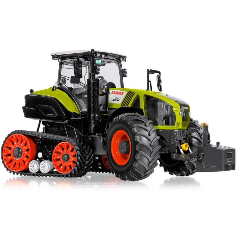 Tractor Claas Axion 930 Terra Trac - Miniatura 1:32 - Wiking 077839