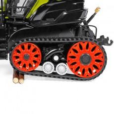 Tractor Claas Axion 930 Terra Trac - Miniatura 1:32 - Wiking 077839 detalle orugas traseras