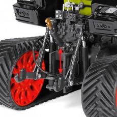 Tractor Claas Axion 930 Terra Trac - Miniatura 1:32 - Wiking 077839 detalle tripuntal trasero