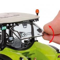 Tractor Claas Axion 930 Terra Trac - Miniatura 1:32 - Wiking 077839 detalle ventana cabina