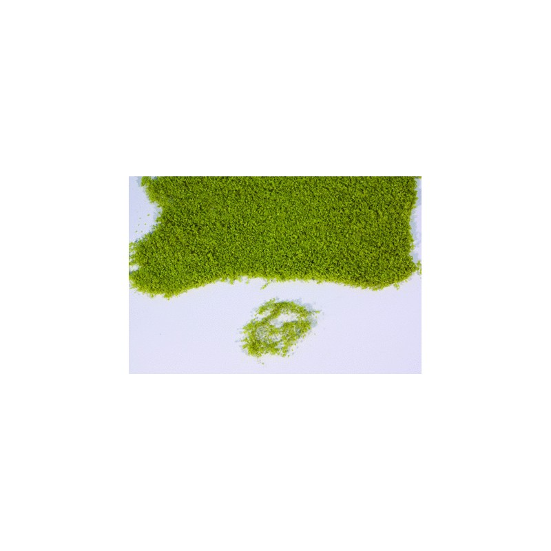 Flor realista verde claro en panel de 28x14 cm - Miniatura Heki 15100