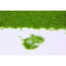 Flor realista verde medio en panel de 28x14 cm - Miniatura Heki 15101