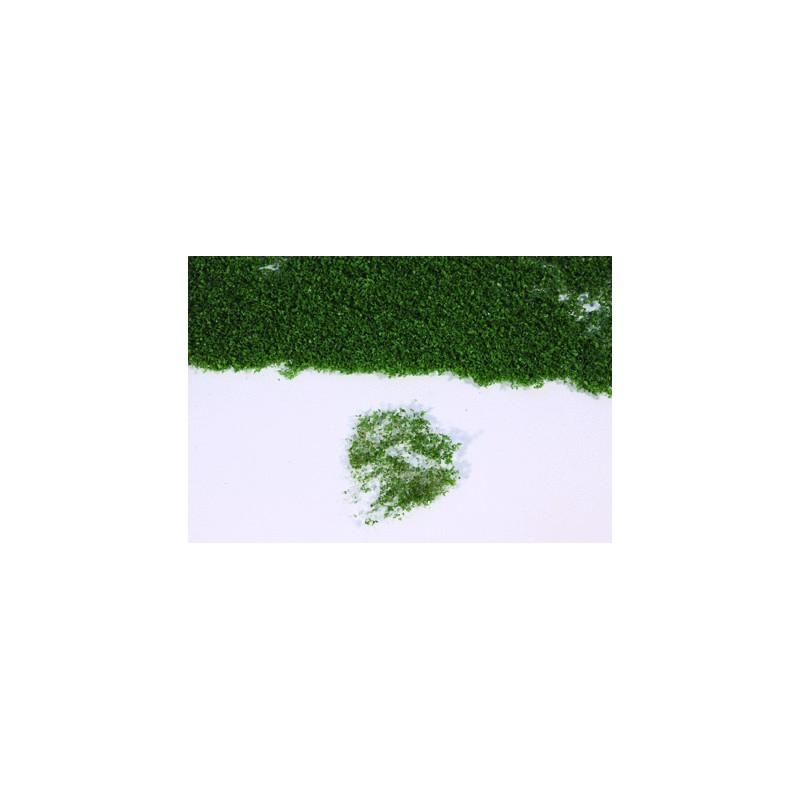Flor realista verde oscuro en panel de 28x14 cm - Miniatura Heki 15103