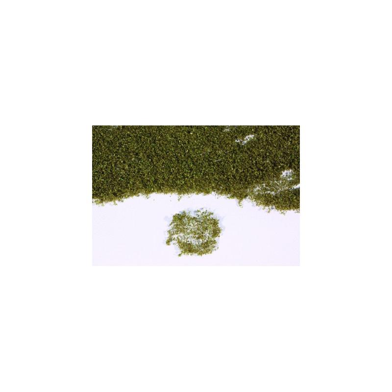 Flor realista verde marrón en panel de 28x14 cm - Miniatura Heki 15104
