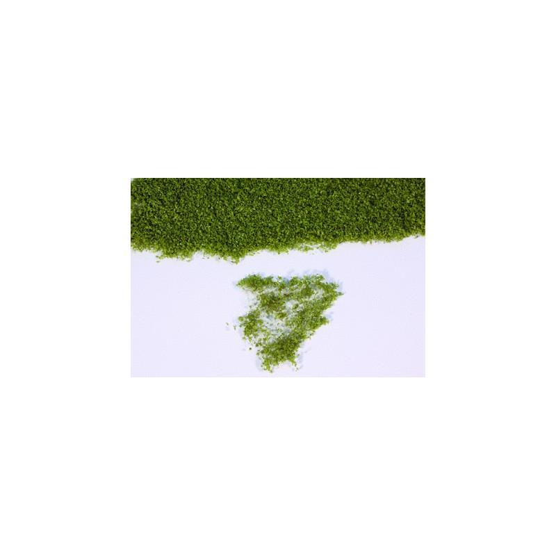 Flor realista verde oliva en panel de 28x14 cm - Miniatura Heki 15105