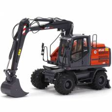 Excavadora de ruedas Atlas 160W con neumáticos Nokian - Miniatura 1:32 - AT3200150