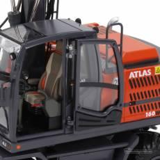 Excavadora de ruedas Atlas 160W con neumáticos Nokian - Miniatura 1:32 - AT3200150 detalle cabina