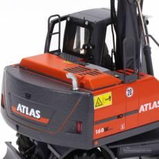 Excavadora de ruedas Atlas 160W con neumáticos Nokian - Miniatura 1:32 - AT3200150 detalle posterior